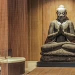 Boeddha beeld in Wellness