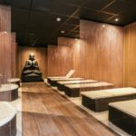Bedden bij Sauna